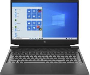 """Pavilion Gaming 16-a0155nd - Laptop - Core i5 10300H / 2.5 GHz - Win 10 Home 64 bits - 8 GB RAM - 256 GB SSD NVMe - 16.1"""" IPS 1920 x 1080 (Full HD)"""